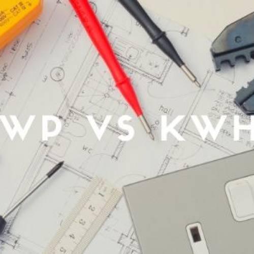 Wattpiek vs. kWh voor zonnepanelen, wat moet ik weten?